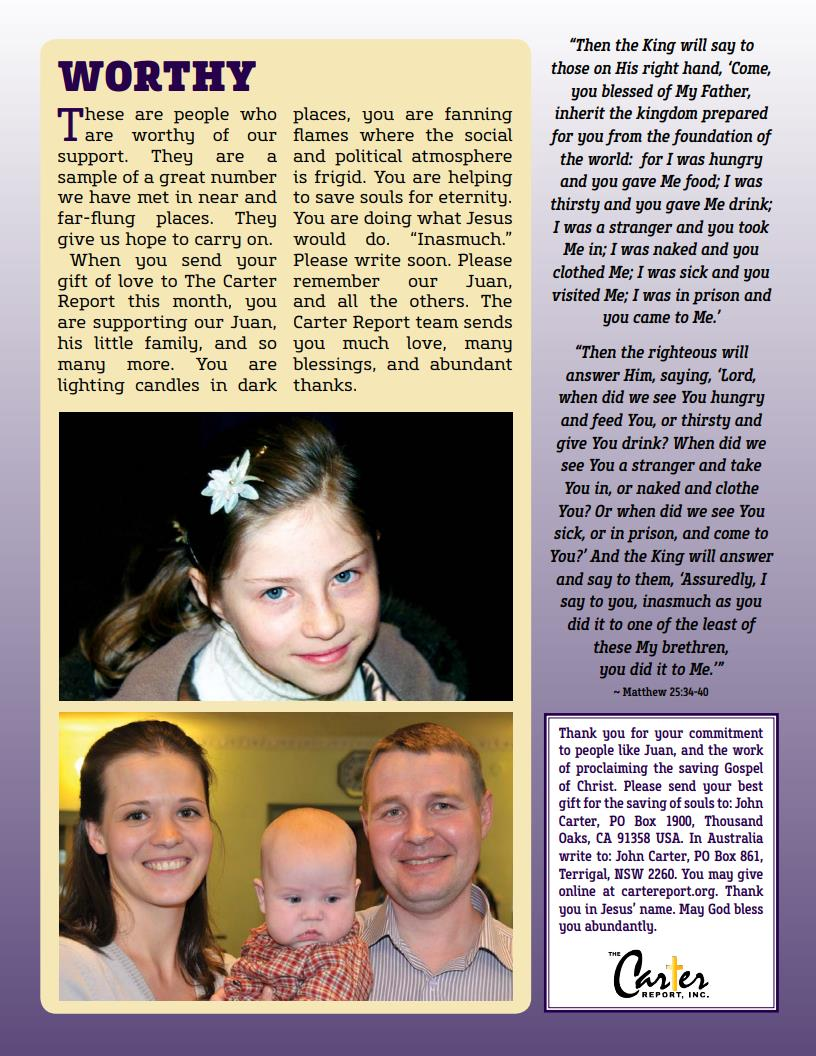 July Newsletter Last Page