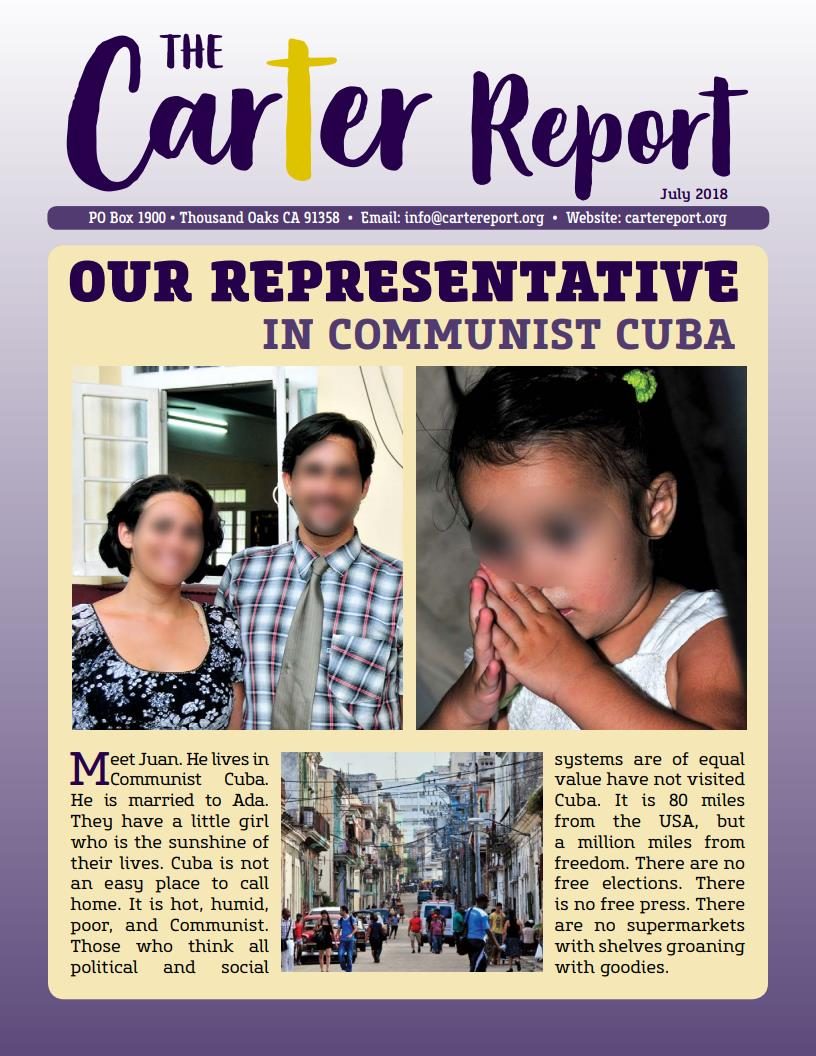 July Newsletter First Page