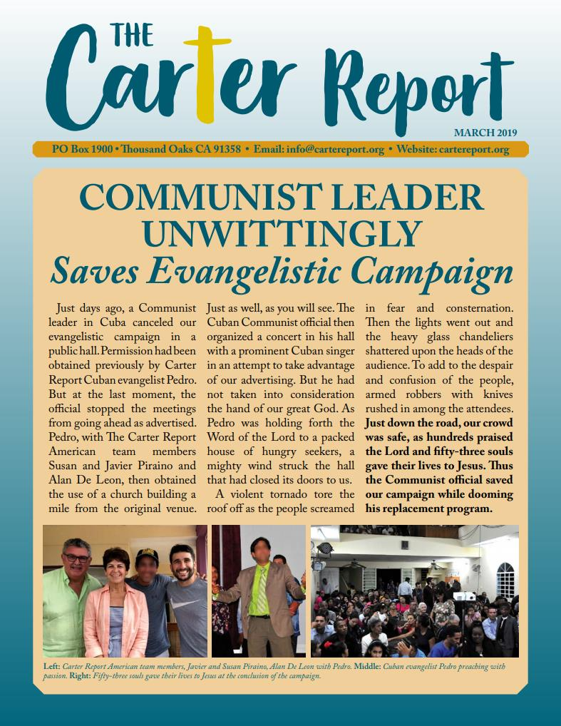 September Newsletter First Page