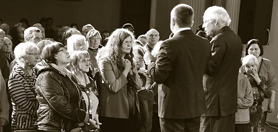 John Carter Preaching