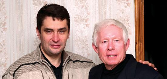 John and Sergei
