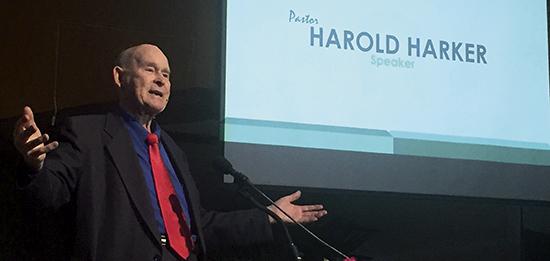 Pastor Harold Harker