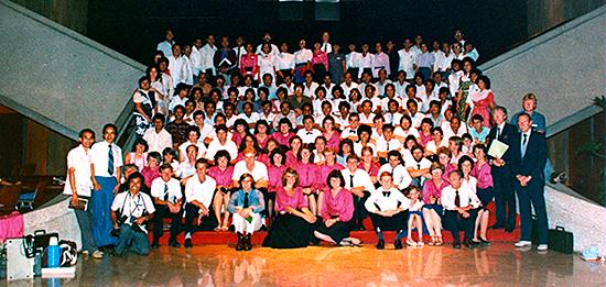 1984, Wahroonga church to Manila