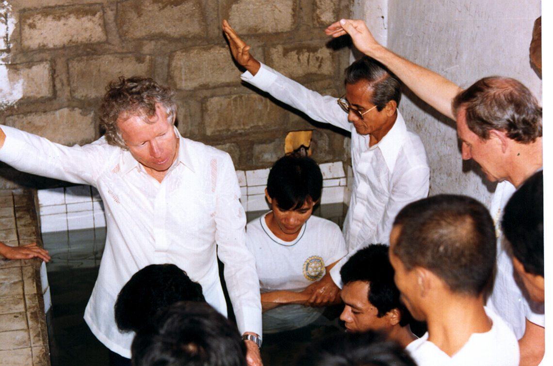 Prison visit with Bradford