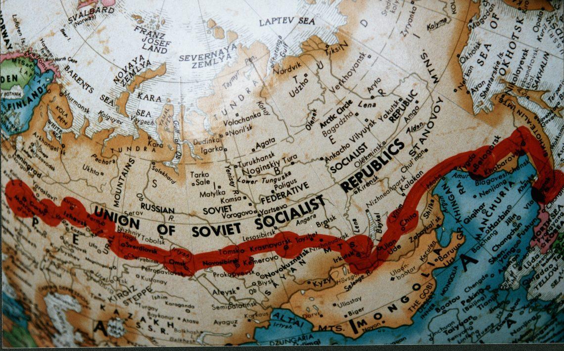 Trans-Siberian Hope Express - Map